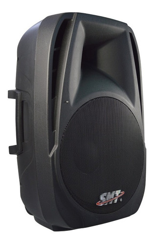 bocina amplificada smt de 15 con pedestal y microfono