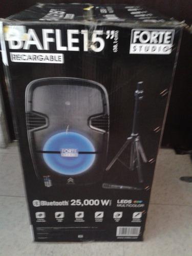 bocina bafle 15 (38cm) forte studio 25000w pmpo fsa-5715bk