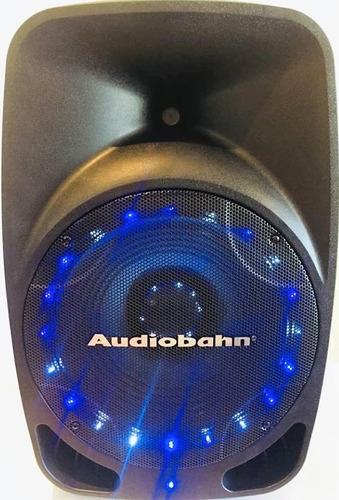 bocina bafle amplificado  audiobahn 300w rms super potente