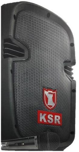 bocina bafle amplificador bluetooth usb kaiser 8  3200 w