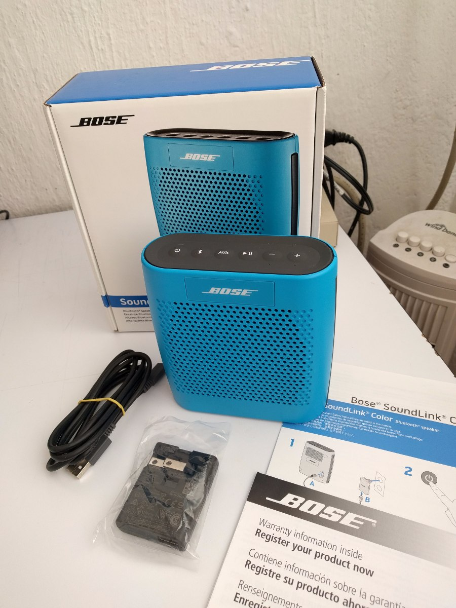 Bocina Bluetooth Bose Soundlink Color 2 500 00 En