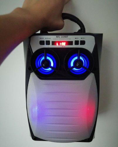 bocina bluetooth con radio fm