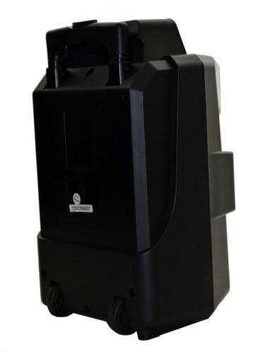 bocina bluetooth led 8 bafle amplificado portatil bateria re