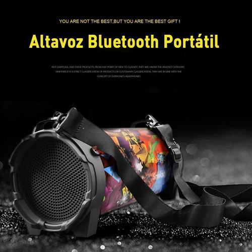 bocina bluetooth portátil altavoz de subwoofer exteriores