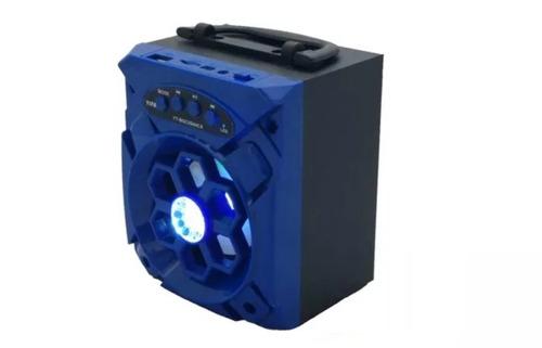 bocina bluetooth recargable , radio fm, micro sd y usb