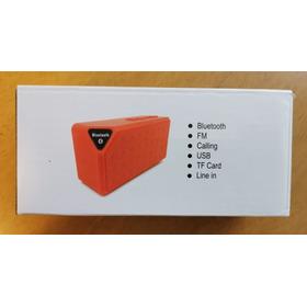 Bocina Bluetooth Rectangular Ec672