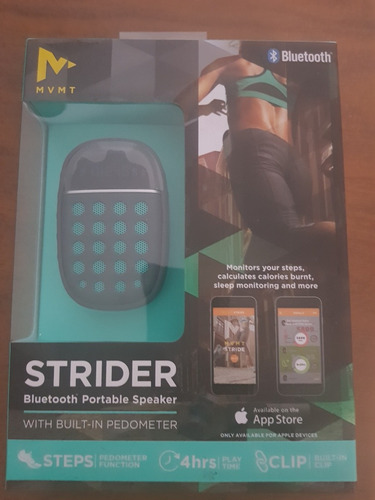 bocina bluetooth strider portatil