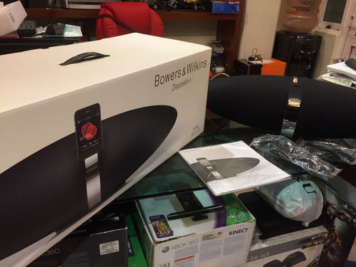 bocina bowers and wilkins air zeppelin wi fi  ethernet