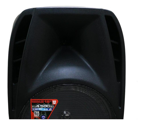 bocina british sound 15'' gran potencia 4500w con bluetooth(