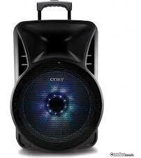 bocina coby 12 pulgs. con microfono, stand y control, blueto