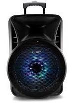 bocina coby 15 pulgs. con microfono, stand y control, blueto