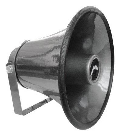 bocina corneta perifoneo sonido redonda prueba de agua