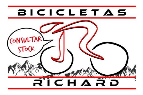 bocina corneta retro de metal cromado // richard bikes