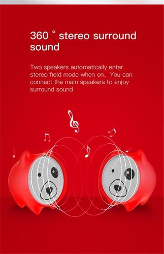 bocina inalámbrica baseus bluetooth portatil tws gran sonido