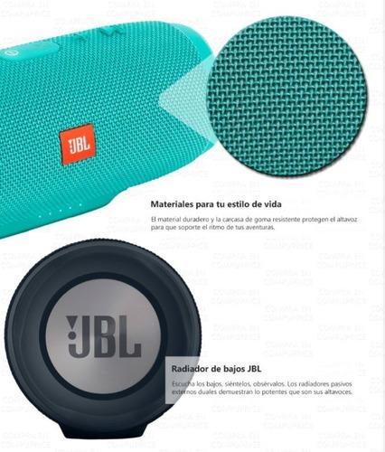 bocina jbl charge 3 bluetooth portatil vs agua envio gratis