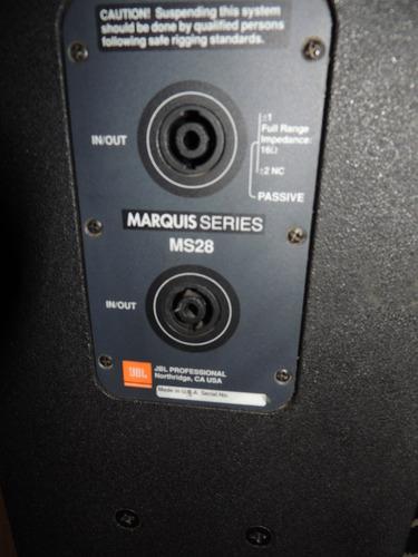 bocina jbl marquis series ms 28 audio