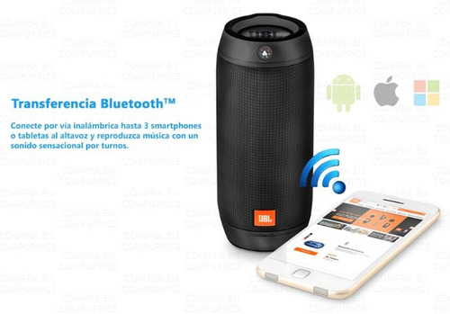 bocina jbl pulse 2 bluetooth portatil recargable envio grati