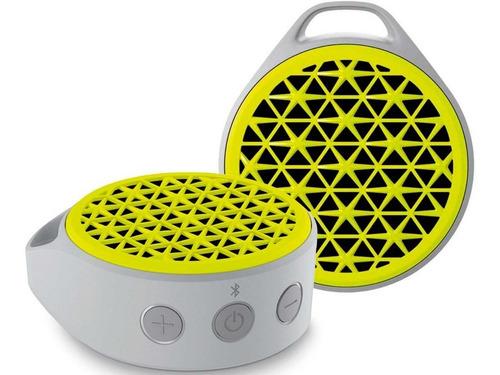 bocina logitech x50 bluetooth portatil amarillo gris