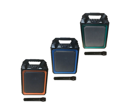 bocina myo 6.5 subwoofer, bateria recargable