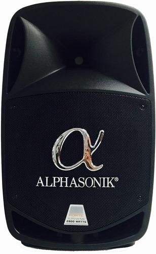bocina p.a. portátil alphasonik 15  powered 2800w pro dj