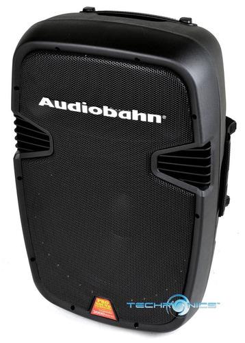 bocina p.a. portátil audiobahn torq 15  powered 2600w pro dj