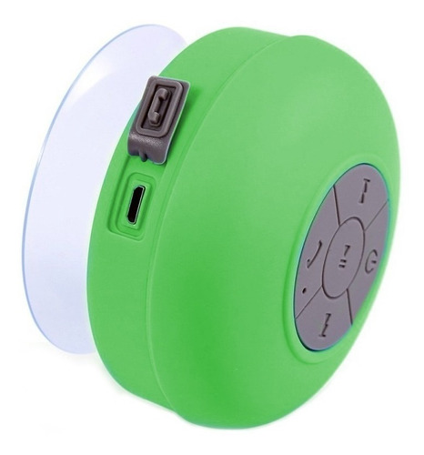 bocina portatil bluetooth contra agua ventosa regadera /e /a