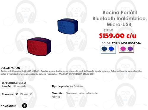 bocina portatil bluetooth inalambrico