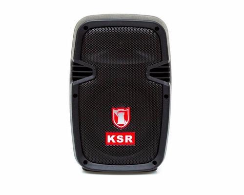 bocina portátil kaiser msa-7908bte 8 pulgadas 25w bluetooth