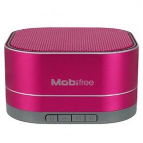 Bocina Portatil Mobifree Mb-916455 Bluetooth 3 5 Mm Usb Rosa