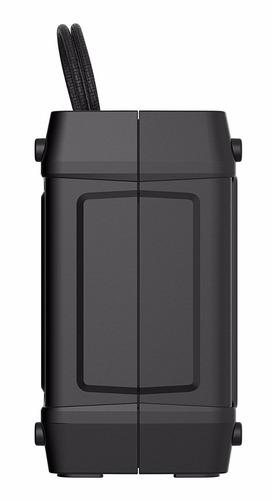 bocina portatil skullcandy shrapnel bluetooth - negro