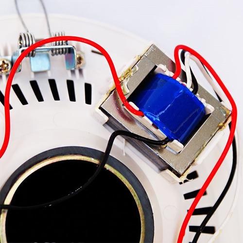 bocina profesional de plafon 5.25  c/agarraderas de ajuste