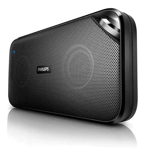 bocina recargable philips  5 hrs duración bluetooth nfc 10w