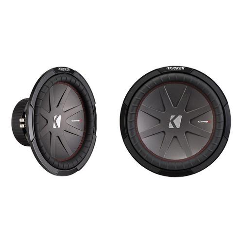 bocina subwoofer 12¨ 2000 watts 4 ohm sonido estéreo kicker
