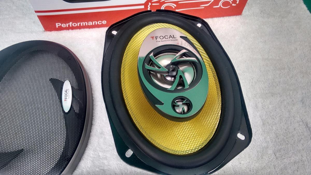 Bocinas 6x9 Focal Potencia Y Fidelidad Como Jl Audio,kicker