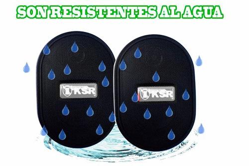bocinas ambientales máxima fidelidad y potencia nítida 600w