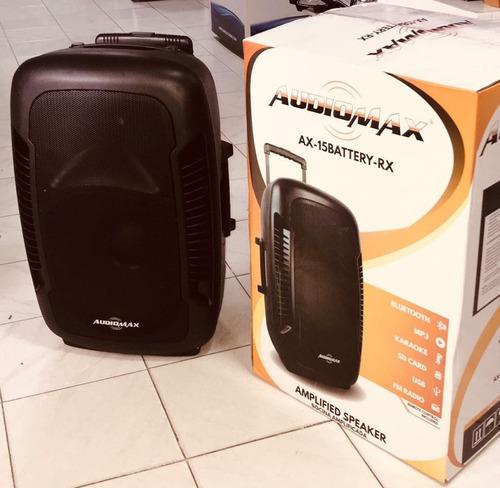 bocinas ax 15 batery audiomax de 15 de 1000w