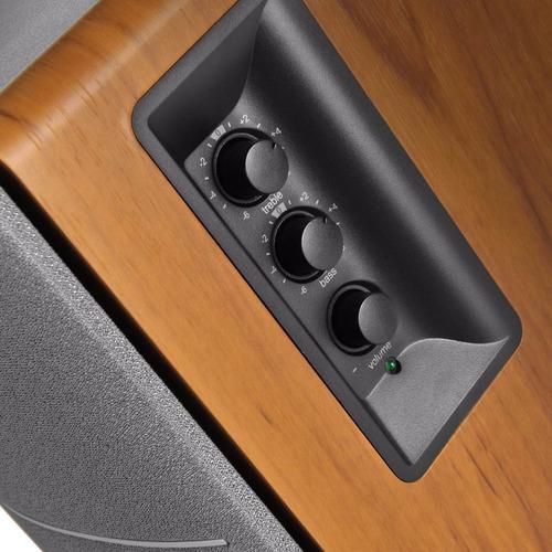 bocinas edifier r1280t color madera