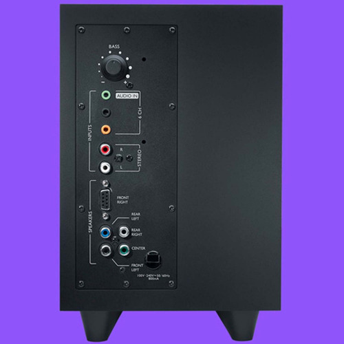 bocinas gamer logitech z506 5.1 canales surround pc xbox
