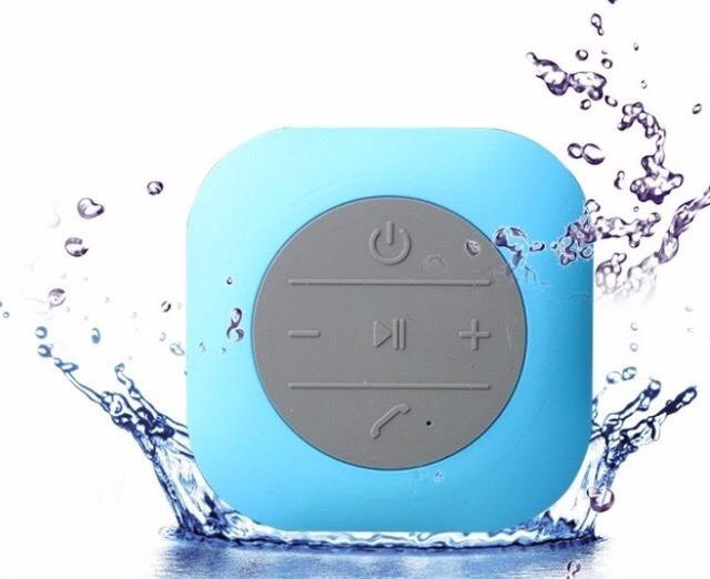 Bocinas recargables bluetooth ba o regadera contra agua en mercado libre - Cuanto dura un bano de color ...