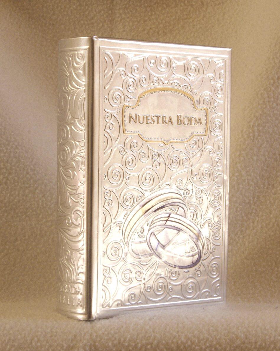Matrimonio Biblia Catolica : Boda biblia para anillos en