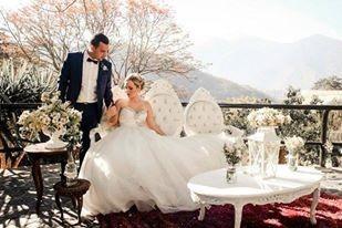 boda vintage muebles barra coctel pastel postre