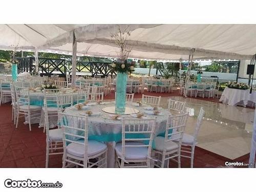 bodas, carpas, cumpleaños,baby shower, sillas y mas