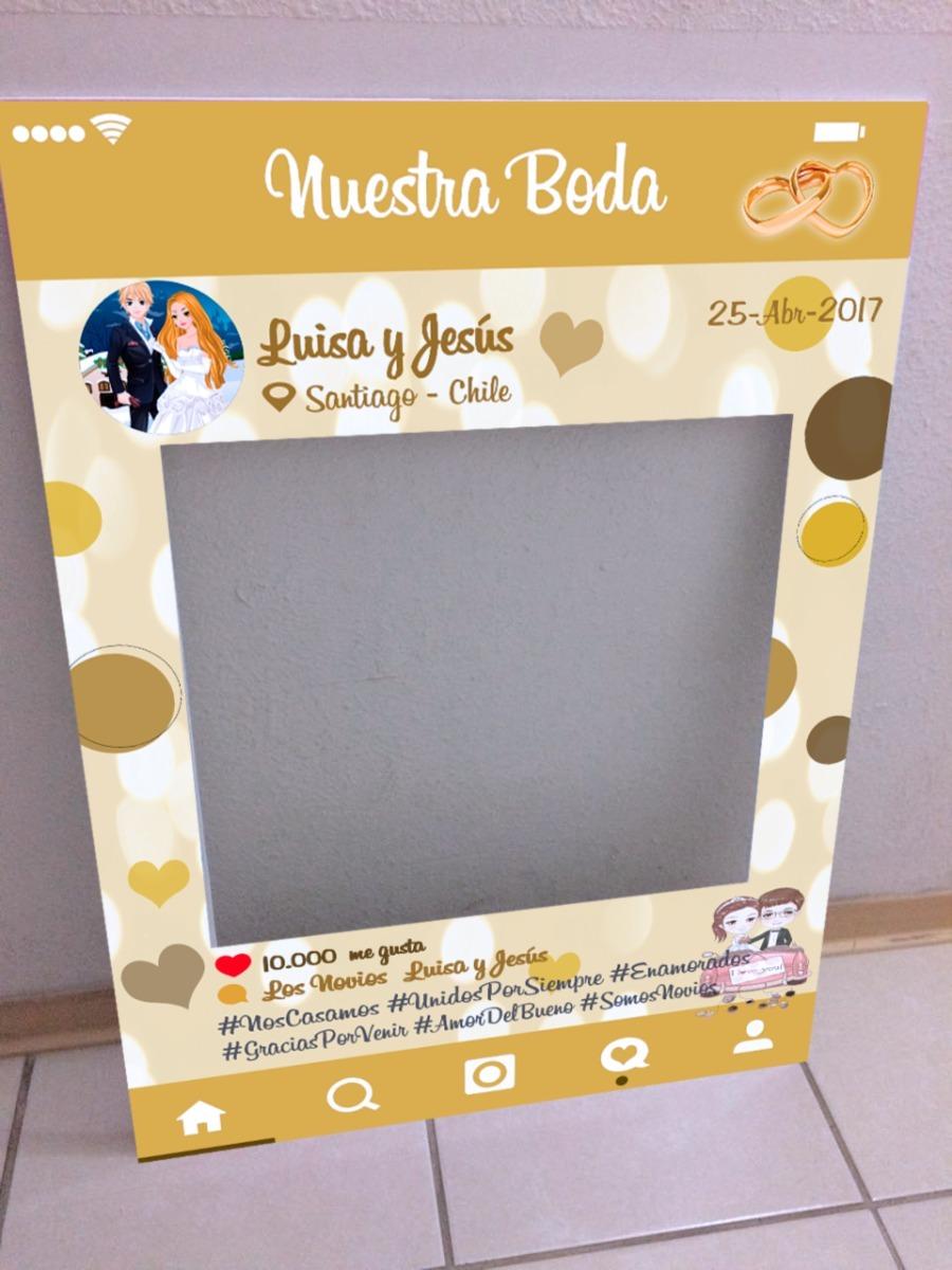 Bodas Marco Cuadro Selfie Instagram - $ 17.000 en Mercado Libre