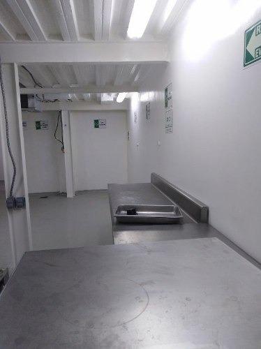 bodega adaptada para plata tipo tif con camaras de refrigeración