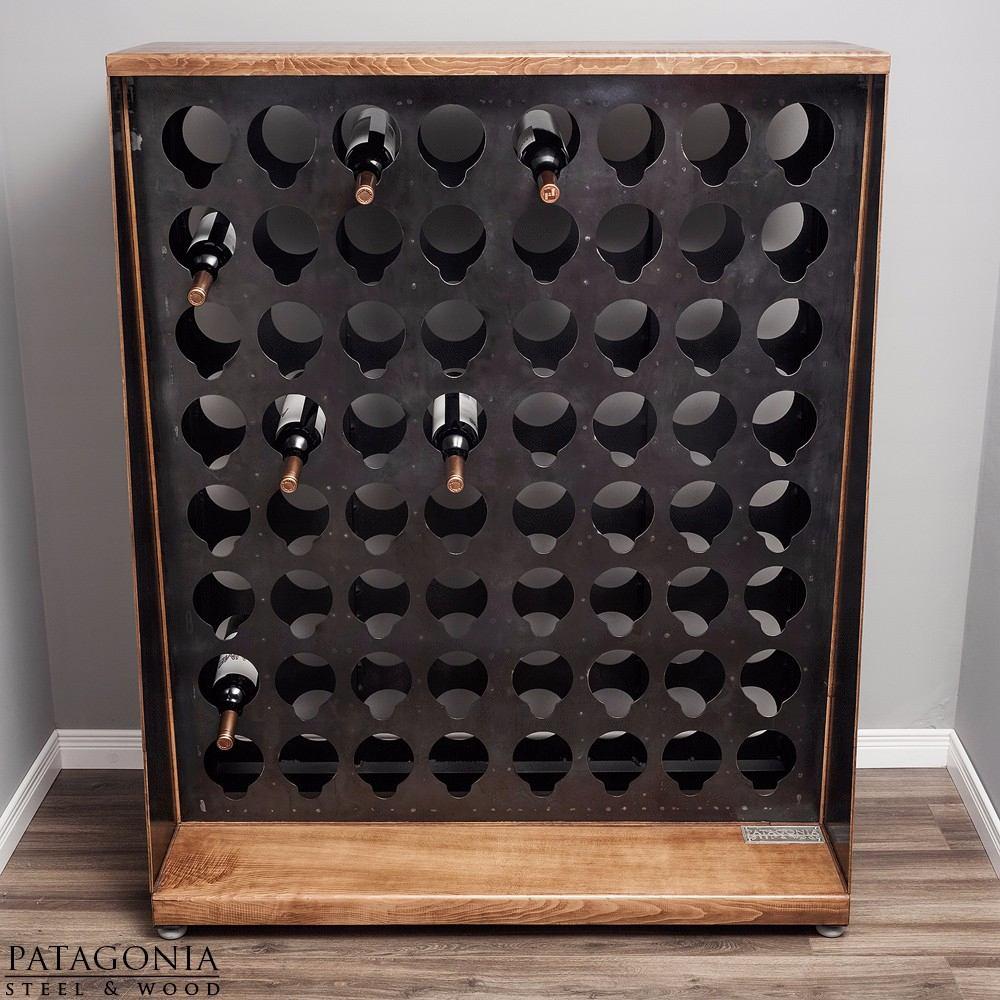 Bodega Cava Vinoteca Vino Diseño Industrial 64 Botellas - $ 33.000 ...