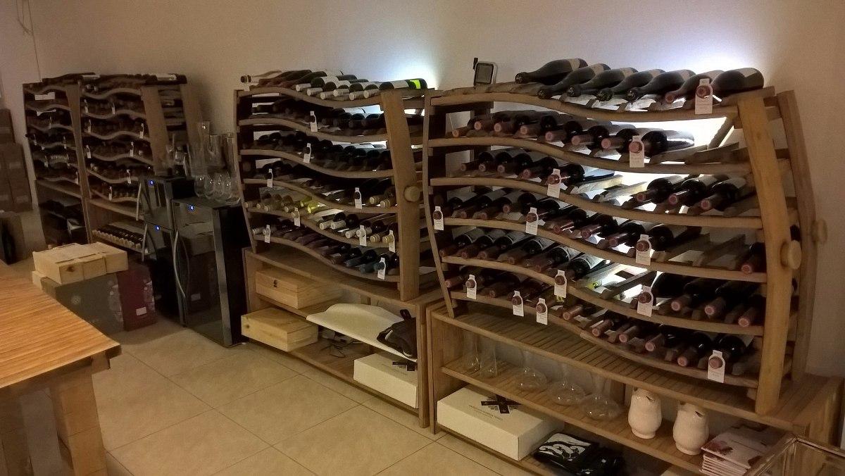 Muebles para vinos botellero para vino europalets muebles for Mueble bodega