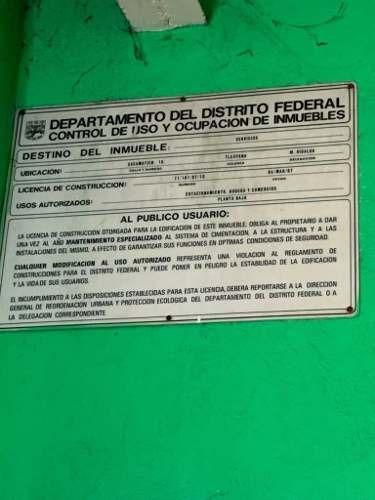 bodega comercial en venta miguel hidalgo anahuac
