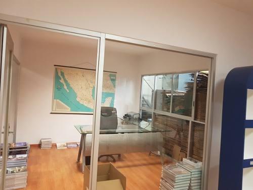 bodega con oficinas en la col. argentina antigüa