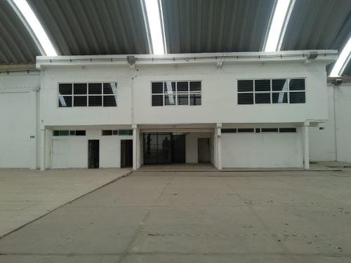 bodega con oficinas en renta chimalhuacan
