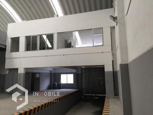 bodega de 1.450 m2, con oficinas, naucalpan de juárez.